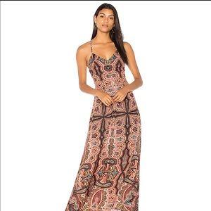 alice + olivia maxi-dress